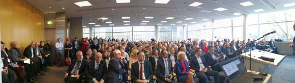Bühne 1 Eröffnung DIGITAL FUTUREcongress Messe Frankfurt 14.02.2019