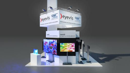 eyevis at Prolight+Sound 2017
