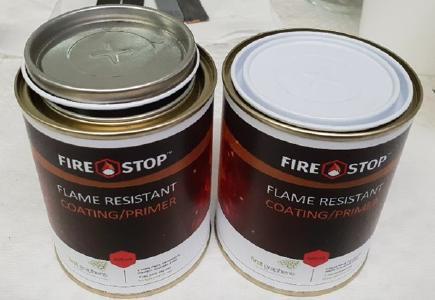 Graphenbasiertes Brandschutzmittel FireStop; Foto: First Graphene