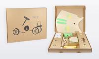 Nachhaltige Polsterverpackung für RePello Rutschauto
