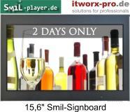 Bild 15,6 Zoll Smil-Signboard