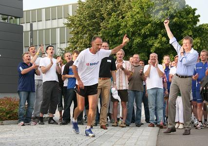 166 von 650 Kilometer hat Jürgen Mennel schon hinter sich gelassen