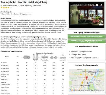 Beispiel: Maritim Magdeburg