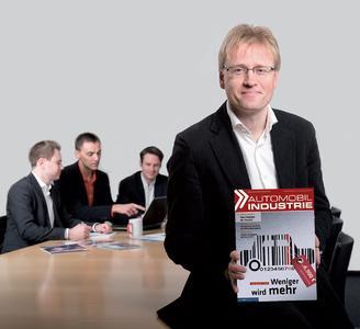 Das Redaktions-Team von »AI« (v.l.): Michael Ziegler, Thomas Günnel, Christian Otto, Chefredakteur Claus-Peter Köth (Foto: AI).