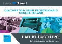 [PDF] Pressemitteilung: Besuchen Sie die FESPA 2017 und sehen Sie, warum sich Profis für Roland entscheiden