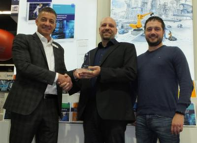Pickert erreicht 3. Platz beim Industrie 4.0 Innovation Award
