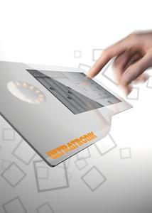 ULTRATRONIK MMI Glas Touch Bedienpanel Lösung