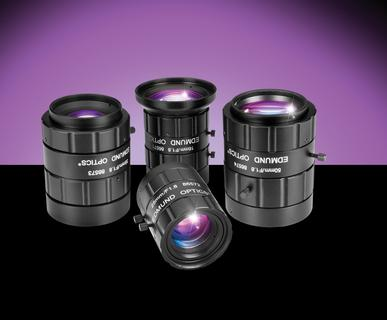 "TECHSPEC® High Resolution Lenses for 1"" and 4/3"" Sensors Ideal for Industrial Inspection"