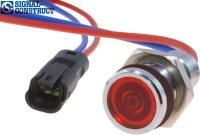 LED-Signalleuchte SMCP10 mit Litze und Stecker, von Signal-Construct.