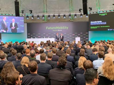 Der Future Mobility Summit fand am 8. und 9. April 2019 auf dem EUREF-Campus in Berlin-Schöneberg statt / Bildquelle: Würth Elektronik eiSos