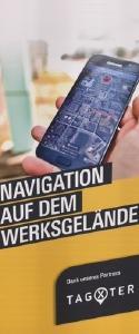 Navigation auf dem Werksgelände