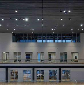 Intelligent building control with BACnet (Photo: ABUS Kransysteme GmbH )