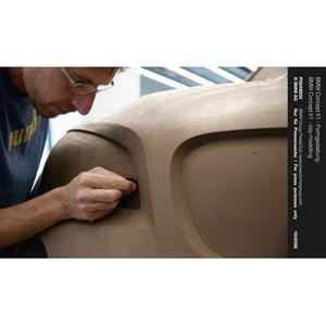 BMW Concept X1 - clay modelling