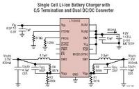 Standalone Li-Ion Battery Charger with Dual Adjustable Output Synchronous Buck Converter
