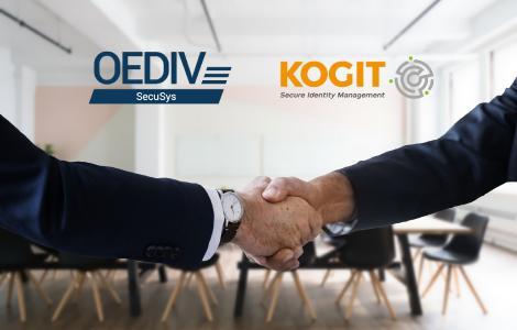 Neue Partnerschaft KOGIT-OEDIV SecuSys