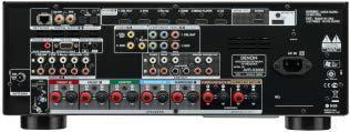 AVR-X3000 Rückansicht