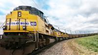 Dank des On-Board-Energiemanagementsystems LEADER® AutoPilot™ ließ die Knorr-Bremse Tochter New York Air Brake einen Güterzug autonom fahren | © Knorr-Bremse