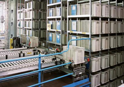 Behälterlager von soft-carrier