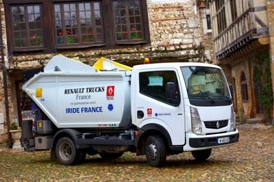 renault trucks stellt franz sischen kommunen im rahmen seiner eco tour alternative. Black Bedroom Furniture Sets. Home Design Ideas