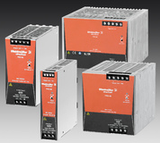 Weidmüller's switch-mode power supplies 'PRO-M': Single- and three-phase switch-mode power supplies save space in automation engineering applications