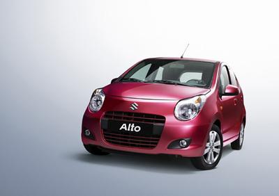 Bei der Internationalen Automobilausstellung Paris präsentiert die Suzuki Motor Corporation unter anderem die Weltpremiere des völlig neuen Alto