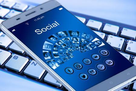 Smartphone - Soziale Netzwerke