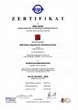 PDF: MTM Power ISO Zertifikat