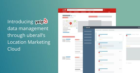 Yelp and uberall partnership announcement