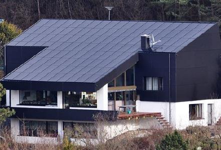 Solardach von Axsun
