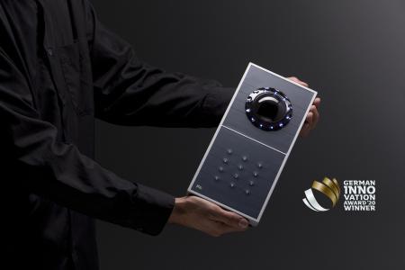 Das biometrische Zutrittsterminal INTUS 1600PS-II erhält den German Innovation Award 2020 für den Mehrwert an Hochsicherheit und Komfort