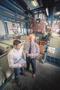 Europas größte Chemisch-Nickel-Anlage für Serien- und Kleinteile ist bei AHC am Standort Weiterstadt beheimatet.