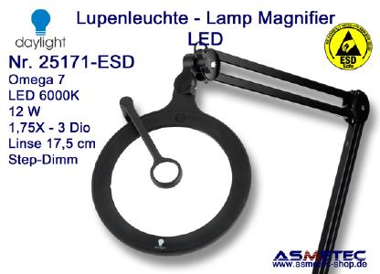 Daylight LED-Lupenleuchte 25171 ESD