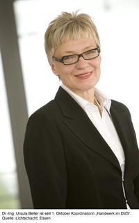 """Dr.-Ing. Ursula Beller ist die Koordinatorin """"Handwerk im DVS"""""""