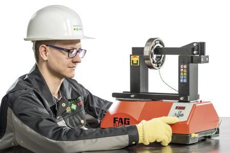 Die FAG-Anwärmgeräte sind standardmäßig vom FAG HEATER10 bis zum FAG HEATER1200 erhältlich und erfüllen höchste Qualitäts- und Sicherheitsstandards / Foto: Schaeffler