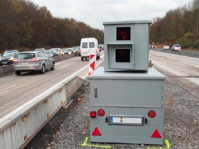 Traffic Solutions - Semistationary Monitoring, © Copyrights: Jenoptik