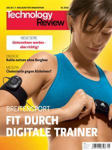 Das Titelbild der aktuellen Technology-Review-Ausgabe 05/2010