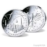 Die aktuelle 20-Euro-Silbergedenkmünze, Bild: BVA