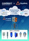 Mit dem neuen CloudRail.Box-Gateway können Sensordaten mit einer Konfigurationszeit von weniger als einer Minute an jede Cloud gesendet werden (Quelle: Contrinex, CloudRail)