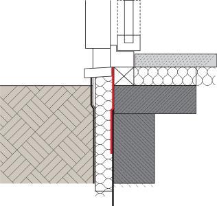 MB 2K ist vielseitig in allen Belangen - auch bei der Abdichtung bodentiefer Fenster (Bildquelle: Remmers, Löningen)