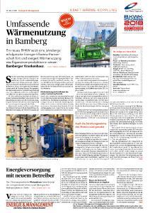 Energiezentrale im Krankenhaus Bruderwald wird auf Kraft-Wärme-Kälte-Kopplung umgerüstet