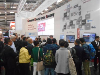 Smart Electronic Factory e.V. auf der HANNOVER MESSE