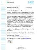 Pilkington Deutschland AG Pressemitteilung Nr. 41 22. September 2021