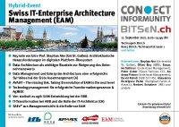 [PDF]: Hybrid Event: Swiss IT-Enterprise Architecture Management (EAM) Forum in Zürich und Online
