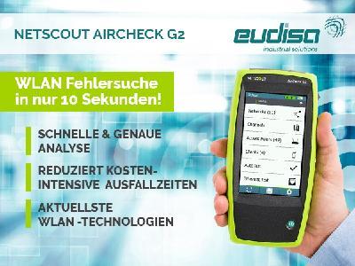 Melden Sie sich für das deutschsprachige kostenlose Webinar an über den weltweit einzigen Aircheck G2 - das Messgerät für jeden WLAN Profi und wer es werden will!