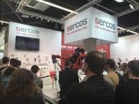 ttraktive Anwendungsfelder der Sercos Technologie ziehen Besucher an