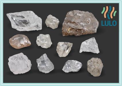 Ausgewählte Diamanten aus dem aktuellen Verkaufspaket; Foto: Lucapa Diamond Company