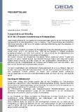 [PDF] Pressemitteilung: Transportbühne auf Höhenflug