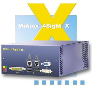 Matrox 4Sight-X - Like hardware, software is pre-installed so developers have a simpler process and can get their product to market sooner.