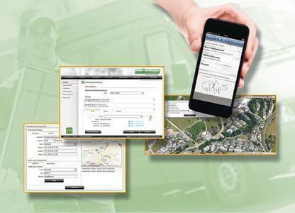 Die neue mobile Auftragsabwicklung LOSTnFOUND Mission erleichtert die Steuerung von Außendienstaufträgen. Bild: LOSTnFOUND AG