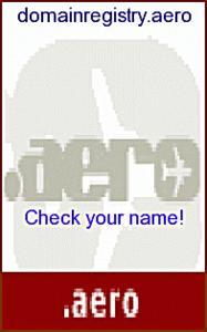 Aero-Domains: Flight to .aero is easy
